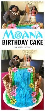 how to make a moana cake