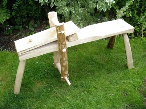 shaving horse woodworking courses green woodworking