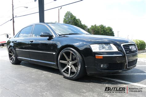 audi a8 with 20in niche verona wheels exclusively from