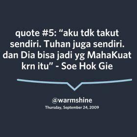 Soe Hok Gie Quotes soe hok gie quotes