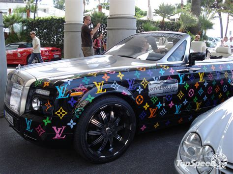 rolls royce drophead by louis vuitton the carloos blog