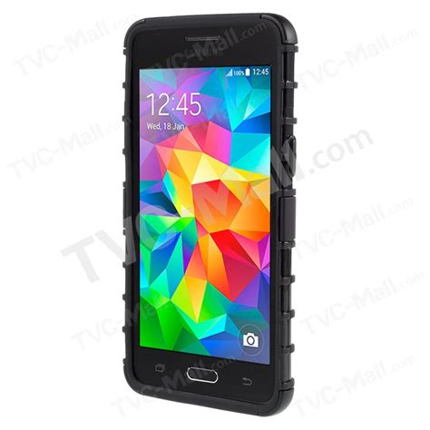 Softcase Kickstand Samsung Galaxy Grand Prime G530h 2 in 1 pc and tpu hybrid for samsung galaxy grand