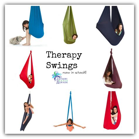 therapeutic swing october 2015 sensory oasis for kids
