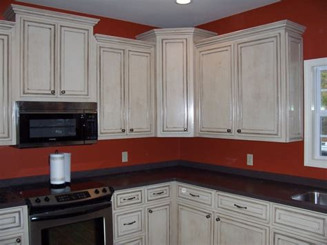 White Kitchen Cabinets With Glaze Kitchen Cabinets Chocolate Glaze Quicua