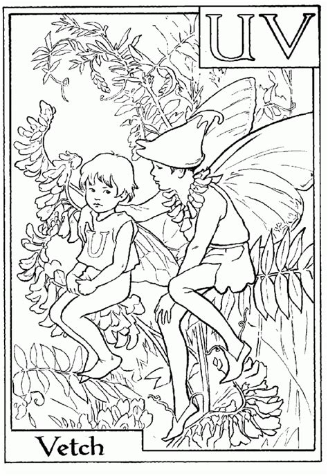 coloring pages fairies and flowers flower fairy coloring pages coloring home