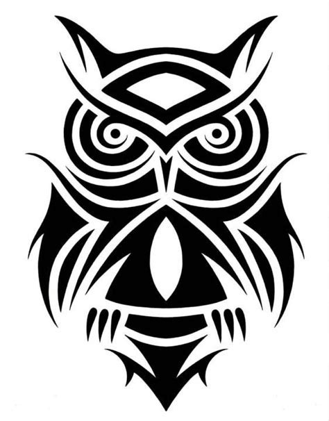 owl tribal tattoo designs 50 best tribal owl ideas designs