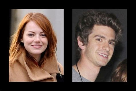 Emma Stone Who Dated Who | emma stone is dating andrew garfield emma stone