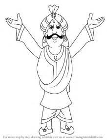 step step draw raja indravarma chhota bheem drawingtutorials101