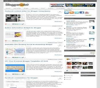 theme blog xml bloggermint template blogger templates 2013