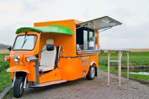 Instant Awning Tuk Tuk Electric Food Truck