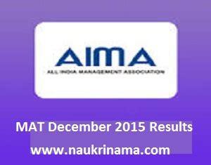 Mat Result by Mat December 2015 Results