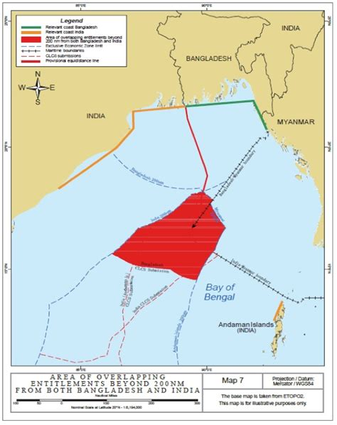 Outer Continental Shelf by Recent Jurisprudence Addressing Maritime Delimitation