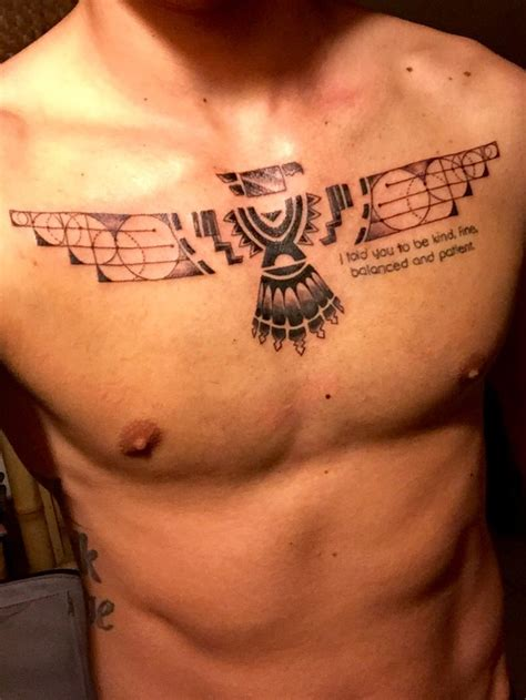tattoos hurt thunderbird minimalistic chest for it hurt a
