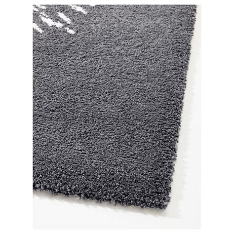 ikea white rugs sanderum rug high pile grey white 200x200 cm ikea