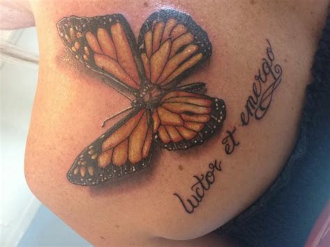 tattoos on buttocks butterfly photos pictures to pin on
