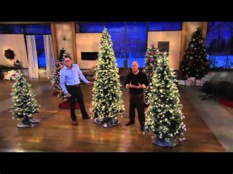qvc bethlehem lights christmas trees bethlehem lights slim blue spruce christmas tree on qvc