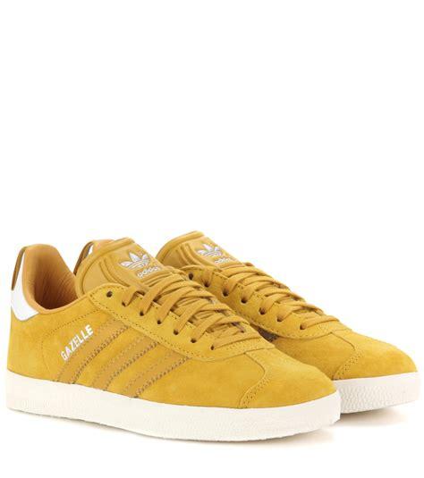 Suede Yellow Original adidas originals gazelle suede sneakers in yellow lyst