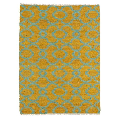 sided rug kaleen kenwood turquoise 8 ft x 11 ft sided area rug ken07 78 8 x 11 the home depot