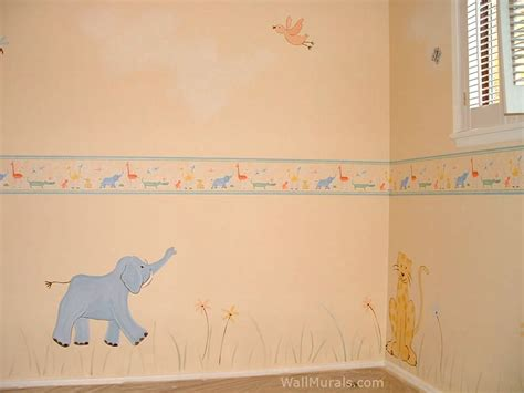 Baby Wall Mural jungle wall murals examples of jungle theme murals
