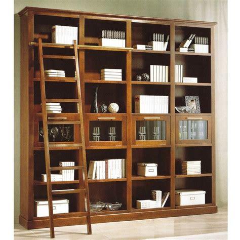 libreria biblioteca librer 237 a biblioteca en madera cerezo en 2019