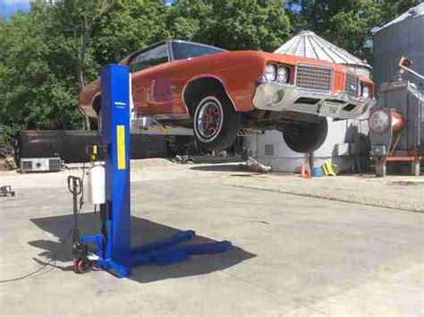 mobile car lift workhorse portable car lift msc 6k