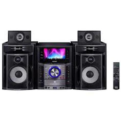 sony mhc gzr999 mini dvd hi fi system 7 inch screen for