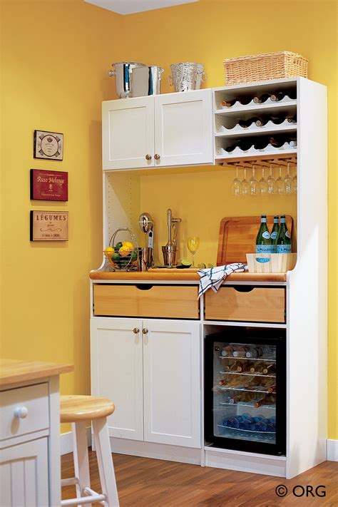 Mini Kitchen Cabinets by Small Kitchen Storage Ideas For Your Home