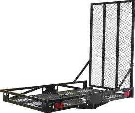 51 x 30 in steel hitch mount cargo carrier princess auto