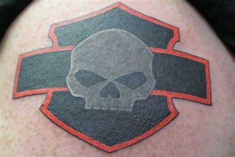 small harley davidson tattoos my harley davidson my style