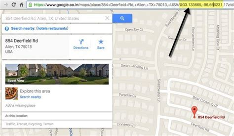 Coordinates Finder By Address 4 Ways To Find Gps Coordinates For Any Location