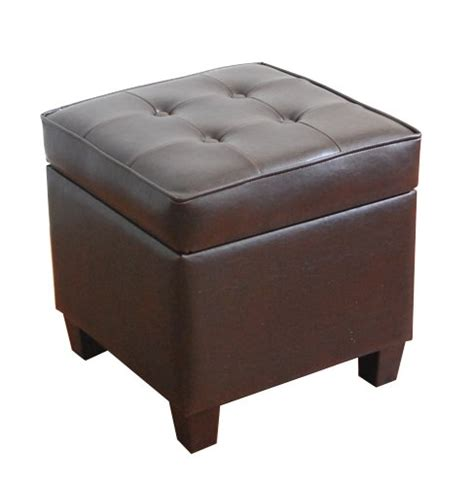 square tufted storage ottoman kinfine square tufted storage ottoman b002hws7y0