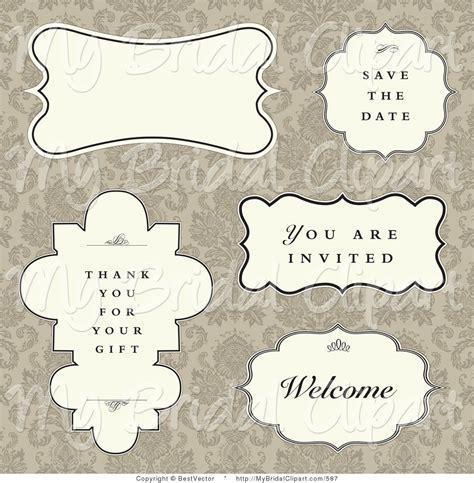 Wedding Text Box by Royalty Free Text Box Stock Bridal Designs