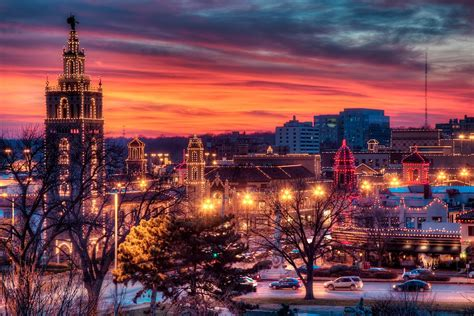 kansas city plaza during the holidays celebrate pinterest
