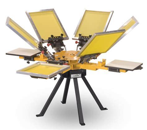 4 color press vastex v 1000 screen printing press 4 station 6 color ebay
