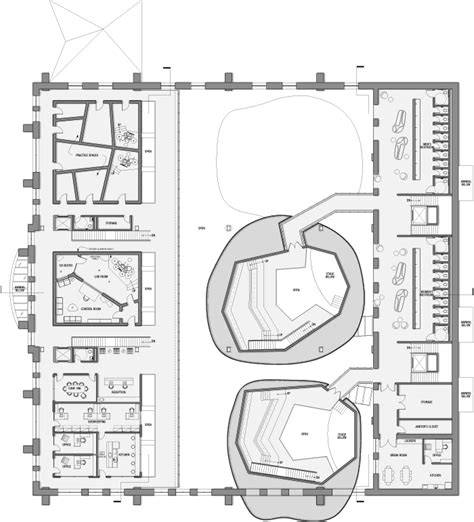 venue floor plans music venue by olena ivanina at coroflot com