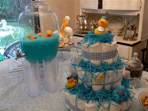 Simple Decorations For Baby Shower by 37 Creative Baby Shower Ideas For Boys Table