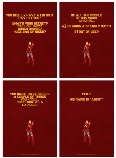 iron man avengers quotes iamkyon fan art