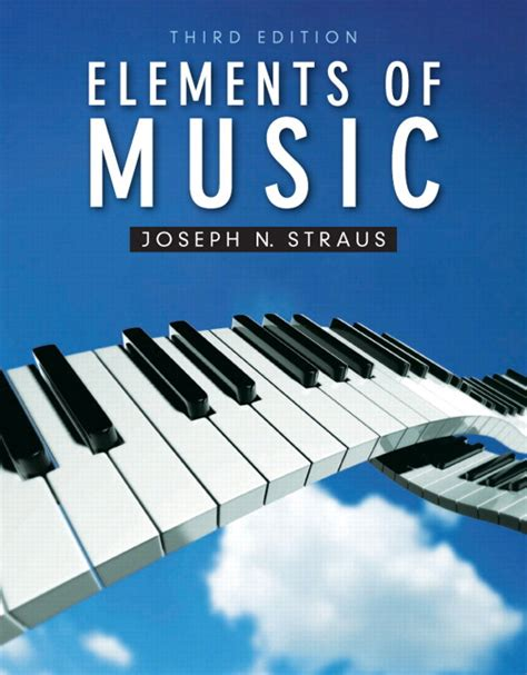 Musical Book Covers by Straus Elements Of 3rd Edition Pearson