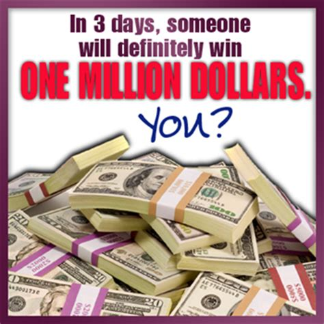 Win 1 Million Dollars Instantly - what would be your reaction to winning one million dollars