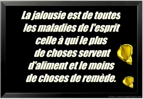 jalousie phrase drunkethic citation jalousie en image