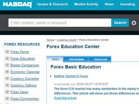 forex learning tutorial 10 best forex video training websites online