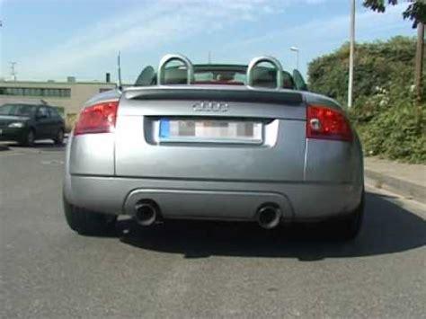 Audi Tt 8n Auspuff by Www Sport Wheels De Audi Tt 8n 1 8t Quattro Eisenmann