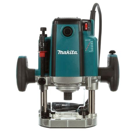 Router Makita Makita 3 1 4 Hp Plunge Router With Variable Speed Rp2301fc