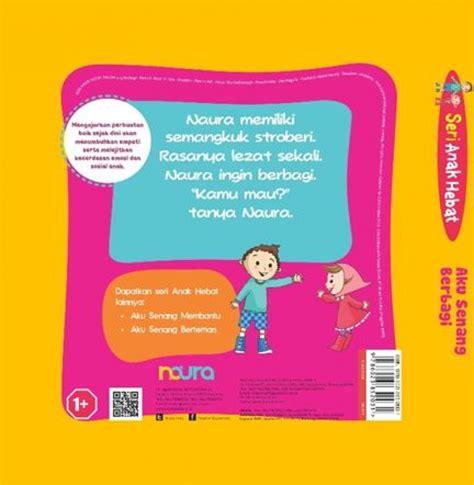 Board Book Aku Senang Berbagi bukukita seri anak hebat aku senang berbagi board