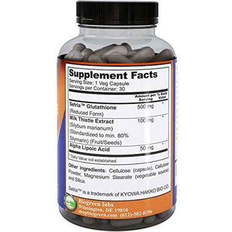 Advanced Detox Solutions Pills Reviews by Reduced Glutathione Supplement Whitening Pills 1