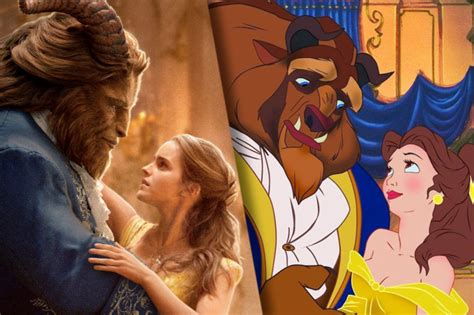 animated film vs cartoon beauty and the beast all the changes from the original