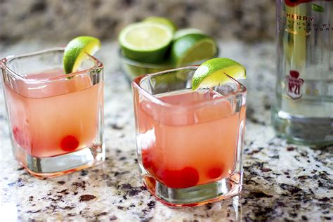 cocktail recipes cherry limeade vodka cocktail recipe