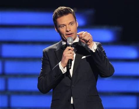 To Host Court Tv Show by Tv Host Seacrest S Typo Loses Against Blackberry
