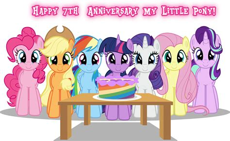 Happy 7th Birthday MLP:FiM!   Fimfiction