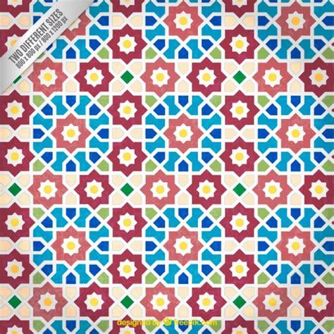 mosaic pattern vector arabic mosaic pattern vector free download
